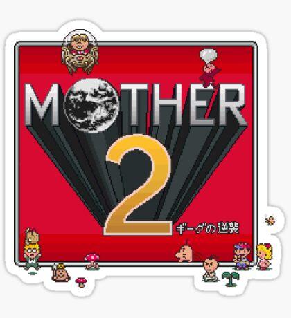 Alternative Mother 2 / Earthbound Title Screen Sticker