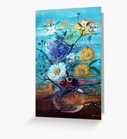 wind in the room  Greeting Card
