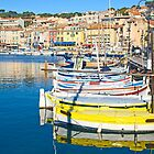 Port of Cassis, France by gianliguori