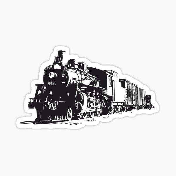 Train Time Sticker