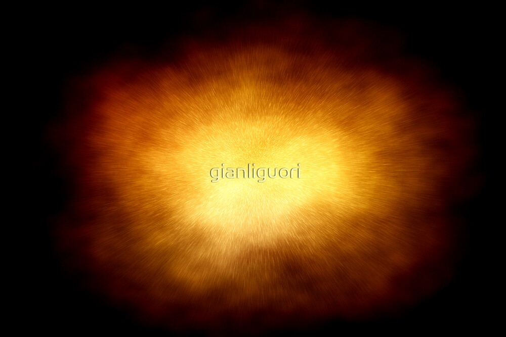 Explosion illustration by gianliguori