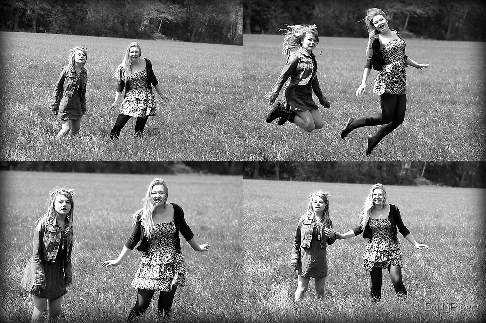 Black and White montage by EmilyPiper