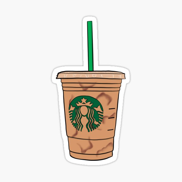 SB Iced Coffee Sticker