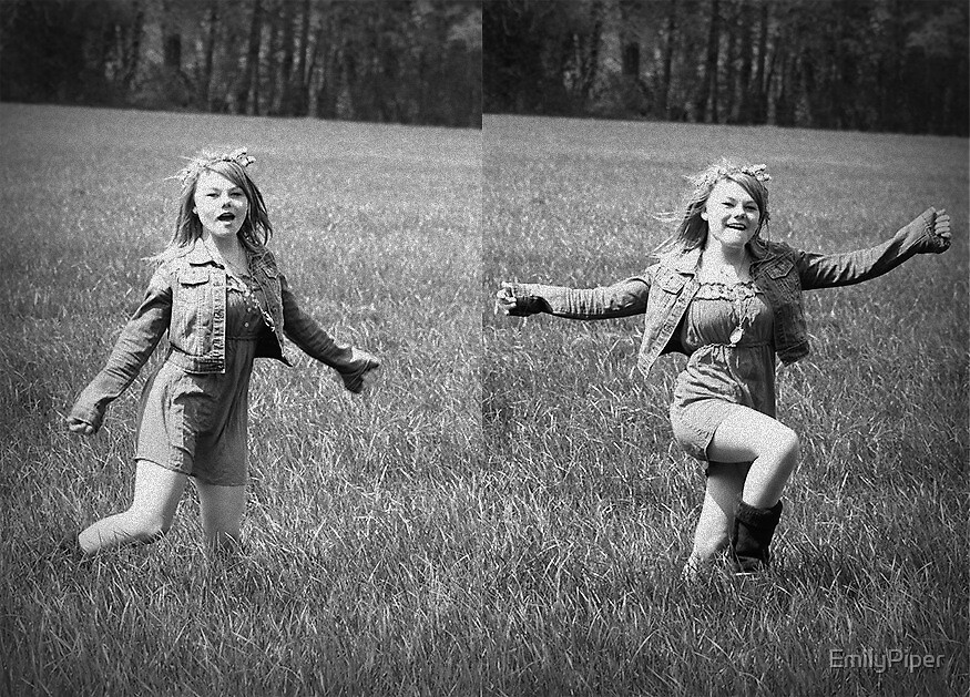 jess black and white - montage  by EmilyPiper