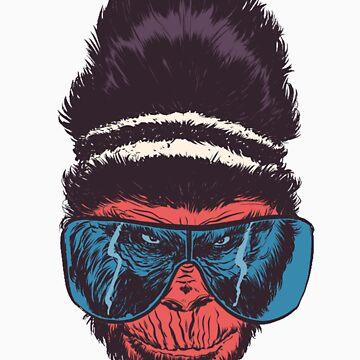 monkey by fejant