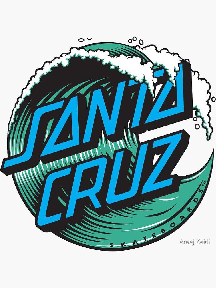 Santa Cruz Blue Wave Logo by areejzaidi