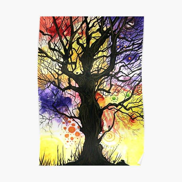 Tree of Life Series - Cosmic Poster