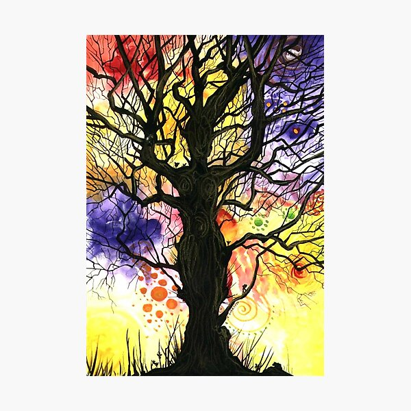 Tree of Life Series - Cosmic Photographic Print