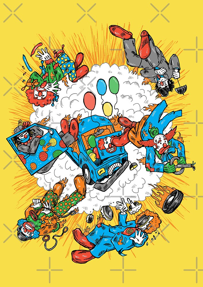 When Clown Cars Explode by nickv47