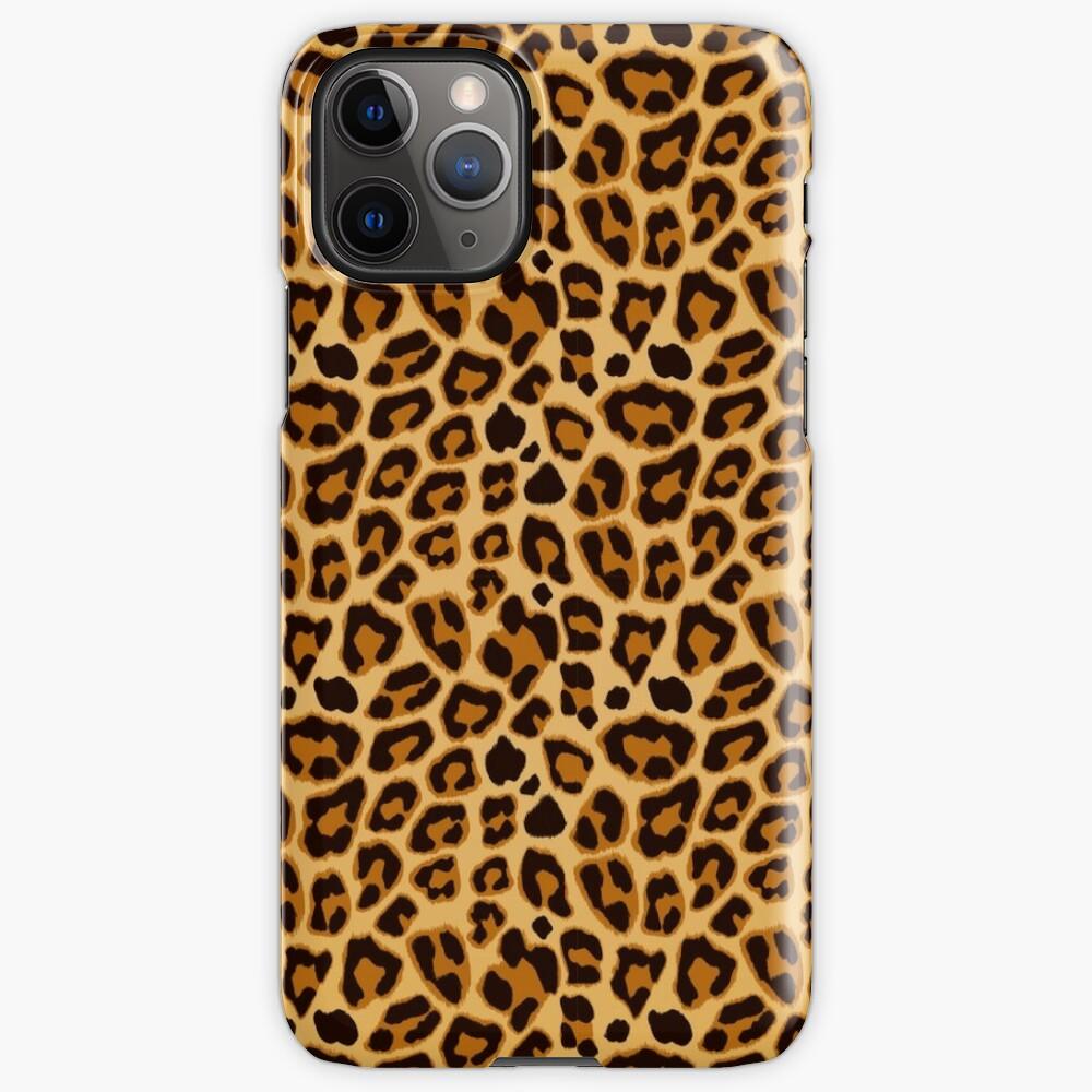 Leopard by My Eternal Symphony x AussiEmoji™ iPhone Case