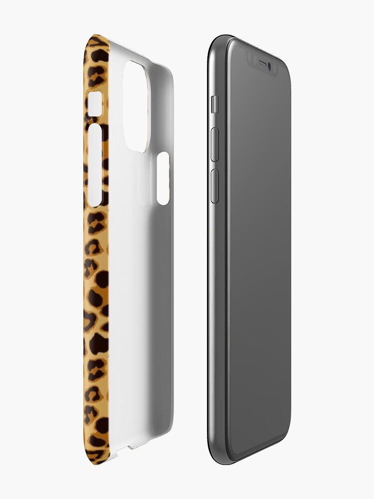 Alternate view of Leopard by My Eternal Symphony x AussiEmoji™ iPhone Case