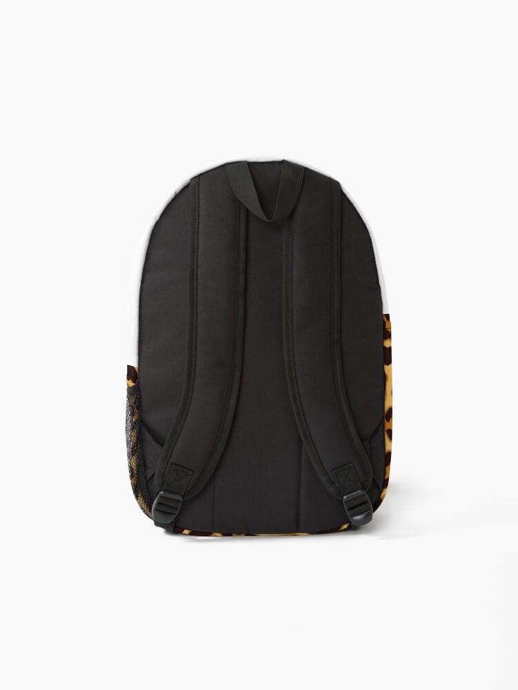 Alternate view of Leopard by My Eternal Symphony x AussiEmoji™ Backpack