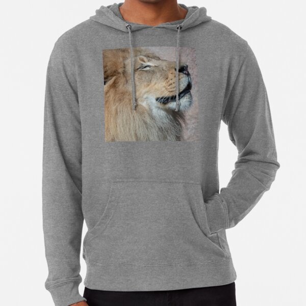 Happy Lion Lightweight Hoodie