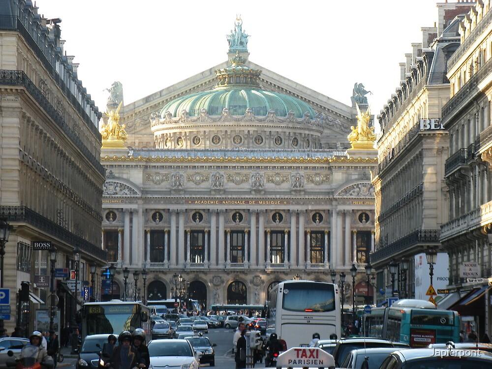 Paris Opera by Japierpont