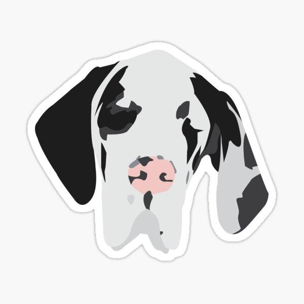 Cute Great Dane Dog Sticker