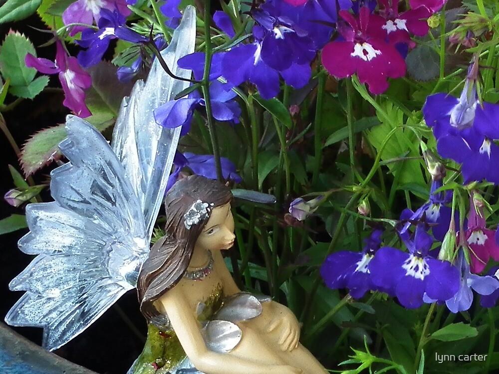 Fairy In My Garden by lynn carter