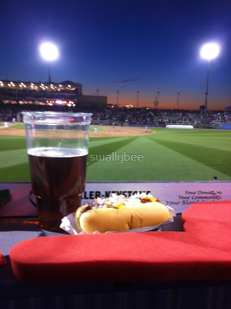 A baseball game. by swallybee