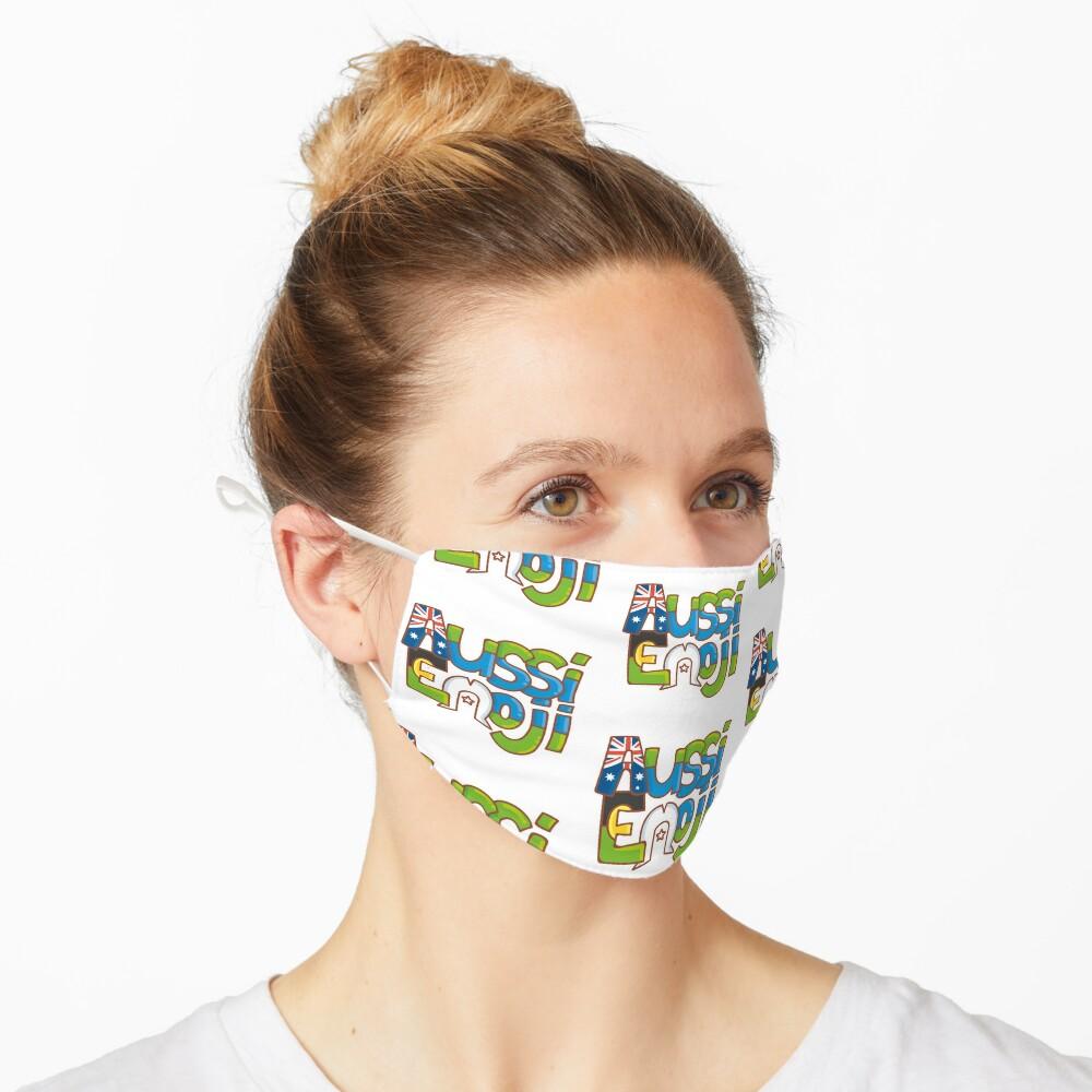 AussiEmoji Australia Mask