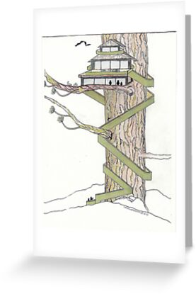 The Tree House by merrilymccarthy