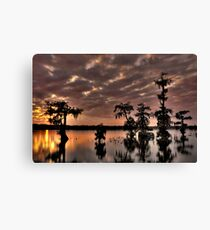 Lake Martin Sunset HDR Canvas Print