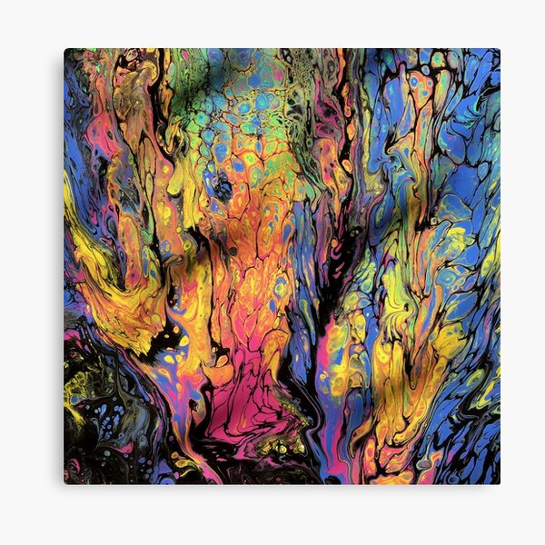 Fluid Acrylic II Canvas Print