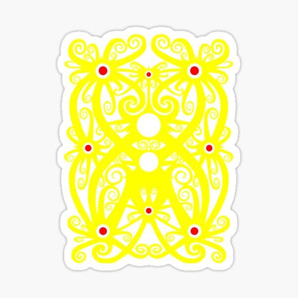 Indonesian Batik Pattern - Dayak Sticker