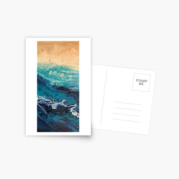 Fluid Acrylic III Postcard