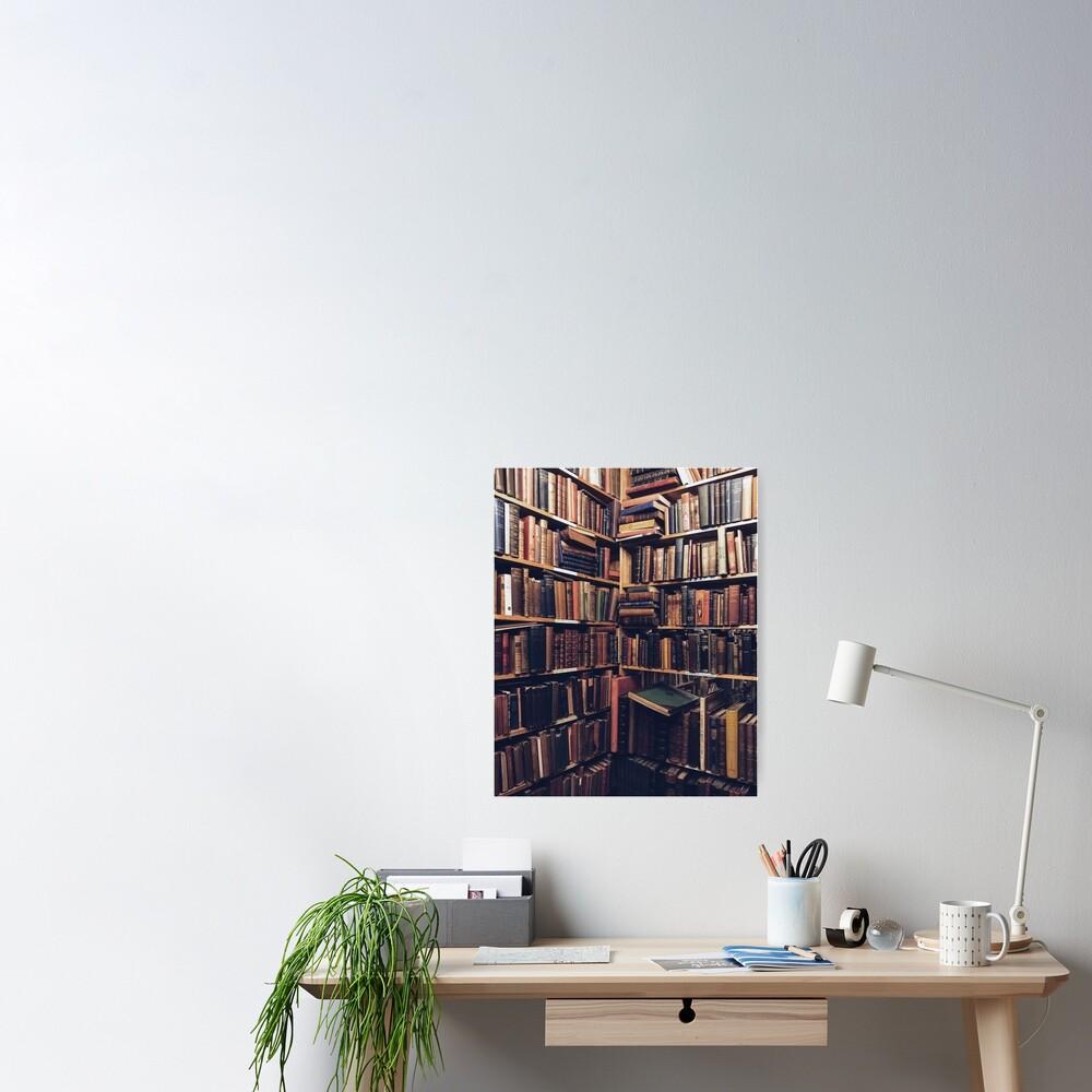 Library Corner Poster
