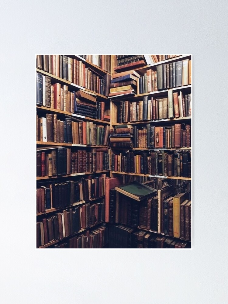 Alternate view of Library Corner Poster