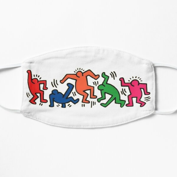 graphic party  Flat Mask