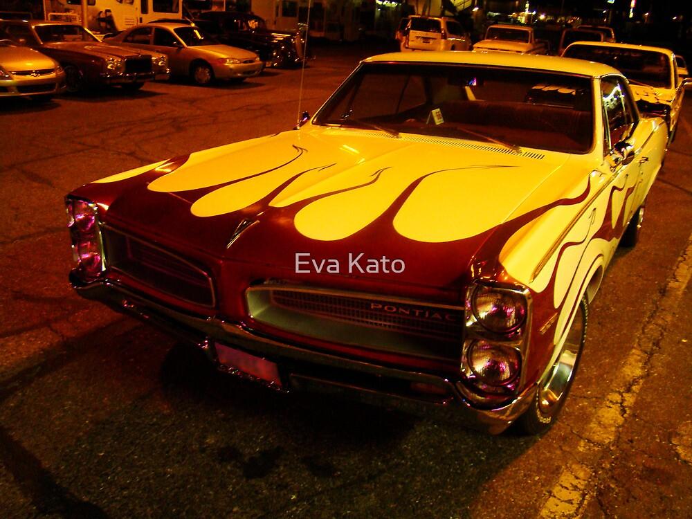 flame car  by Eva Kato