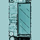 Iphone 4s X-ray by kprojekt