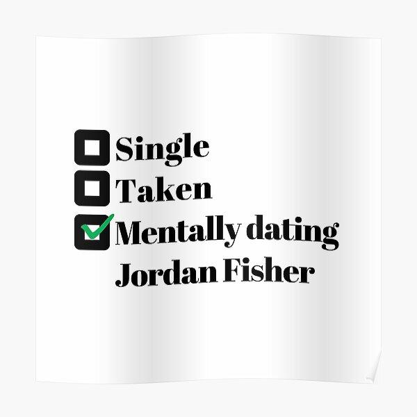 Mentally dating Jordan Fisher Poster