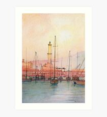 La Lanterna di Genova! Art Print