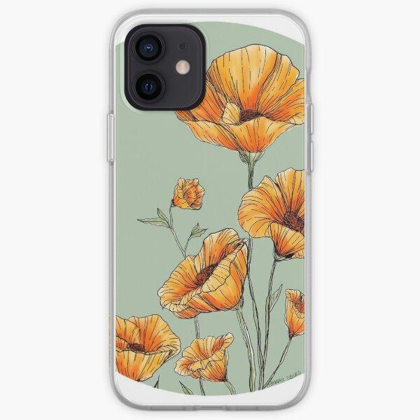 California Poppies iPhone Soft Case