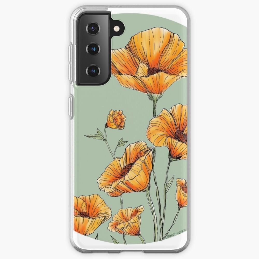 California Poppies Case & Skin for Samsung Galaxy