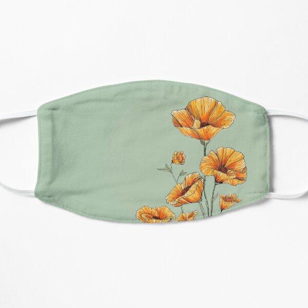 Kalifornische Mohnblumen Flache Maske