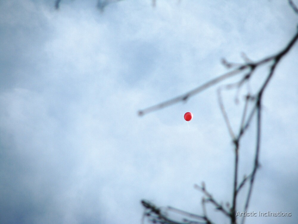 The Red Balloon by Artistic Inclinations