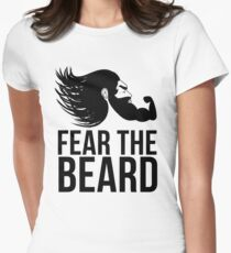 Fear the Beard Womens Fitted T-Shirt