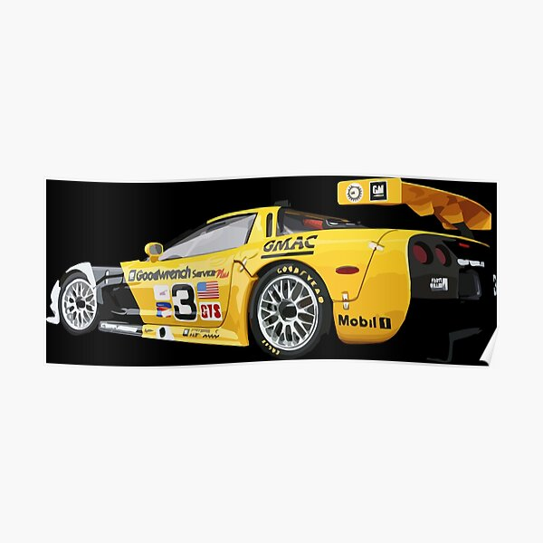 Sin embargo, está diseñado exclusivamente para el deporte del motor. Se convirtió en uno de los autos más exitosos en las categorías GT Póster