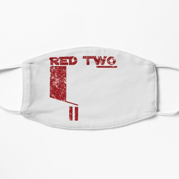 Red Two Flat Mask