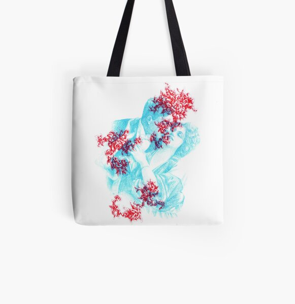 Spectre (the lovers) All Over Print Tote Bag
