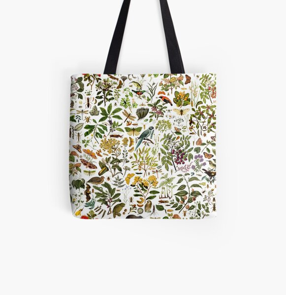 New Zealand Biology All Over Print Tote Bag