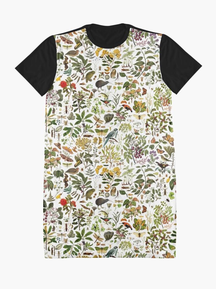 Alternate view of New Zealand Biology Graphic T-Shirt Dress