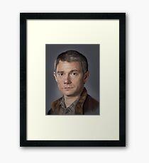 Dr Watson Framed Print