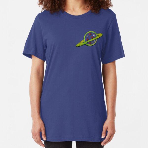 Pizza Planet Alien logo Slim Fit T-Shirt