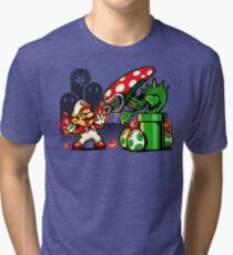 Game Over Man, GAME OVER! Tri-blend T-Shirt
