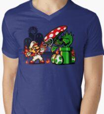 Game Over Man, GAME OVER! Mens V-Neck T-Shirt