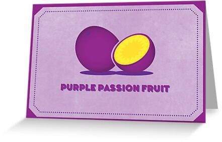 Purple Passion Fruit (Color Palate) by janna barrett