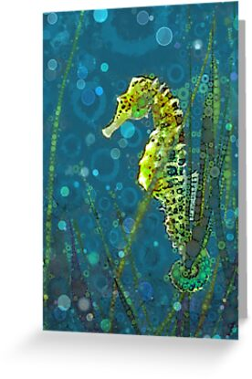 Sea Horse  by Suzanne Clements